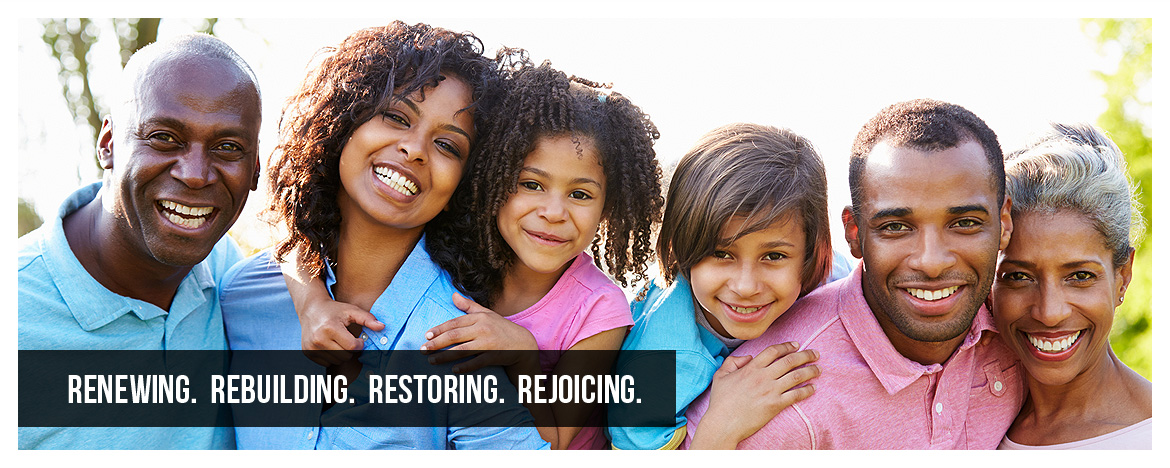 Renewing. Rebuilding. Restoring. Rejoicing.